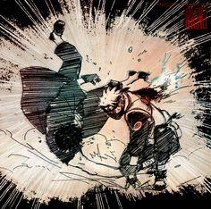 Attack by kanzzzaki on DeviantArt Kakashi And Obito, Gaara, Naruto Uzumaki, Boruto, Naruto Pictures, Satan, Anime Art, Fan Art, Deviantart