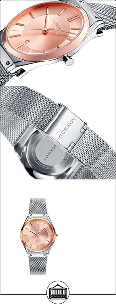 Reloj Viceroy Mujer 42234-97 Malla Plateado de  ✿ Relojes para mujer - (Gama media/alta) ✿
