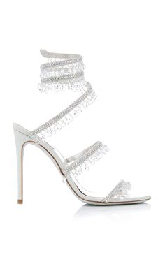 Get inspired and discover Rene Caovilla trunkshow! Shop the latest Rene Caovilla collection at Moda Operandi. Rene Caovilla Shoes, Shoe Boots, Shoes Heels, Heels Outfits, Beautiful Heels, Embellished Sandals, Fashion Heels, Emo Fashion, Fashion Dresses