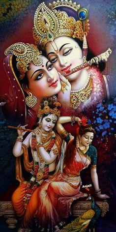 Radha Krishna on Swing Krishna Avatar, Krishna Leela, Radha Krishna Photo, Krishna Art, Krishna Statue, Shree Krishna Wallpapers, Lord Krishna Hd Wallpaper, Radha Krishna Pictures, Lord Krishna Images