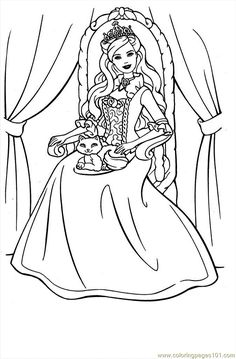 free online printable princess coloring pages | 1000+ images about Middle Earth Free Printables on ...