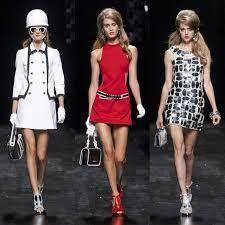 Resultado de imagen para moda de los 60 mujeres
