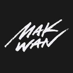 Hand lettering for UFC fighter Makwan Amirkhani. #lettering #scriptlettering #handlettering #athletebranding #sportsbranding