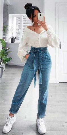 Cute Casual Outfits, Stylish Outfits, Winter Fashion Outfits, Fall Outfits, Casual Street Style, Ideias Fashion, Clothes For Women, Nike Air, Clothing