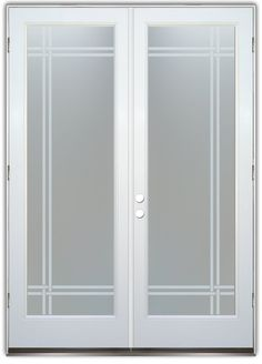 Bands Private Double Entry Doors Hand-crafted, sandblast frosted and 3D carved.  Available as interior or entry door in 8 woods and 2 fiberglass. Slab door or prehung any size, or as glass insert only.  Our fun, easy to use online Glass and Door Designer gives you instant pricing as YOU customize your door and glass!  When you're all finished designing, you can place your order right there online!  Doors ship worldwide from Palm Desert, CA