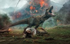 #blogengage Kate Reviews – Jurassic World: Fallen Kingdom (Spoiler Free) @ButWhyThoPC