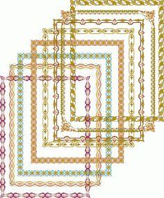 Fancy Frames Borders Frame Border Elegant Vectors Free Vector Cd R, Coreldraw, Vector File, Fancy, Quilts, Elegant, Floral, Silhouette, Pattern