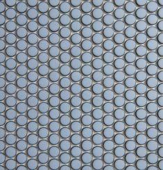 Academy Tiles - Ceramic Mosaic - Glazed Penny Rounds - 82746