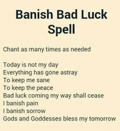 Image result for Luck Spells