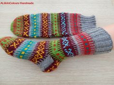 Turkish Anatolian hand knitted women's warm and by ALIFEINCOLOURS, $31.50