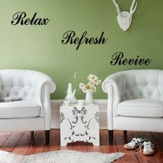 STpark Relaxrefreshrevivestickers DIY Mural Art Decal Self Adhesive Removable PVC Wallpaper Decor 222zy8141 >>> You can find more details by visiting the image link.