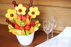 kytice z ovocia - Hľadať Googlom