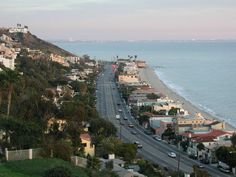 Pacific Coast Highway (PCH) in Malibu - many memories driving to and from this road...many memories!