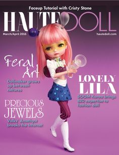 https://flic.kr/p/DxHF5j | Lila Doll on Haute Doll | Looking forward to receiving this issue! March/April 2016
