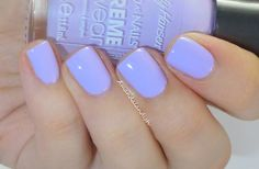 sally hansen xtreme wear, Water Orchid  A cool-toned lilac,