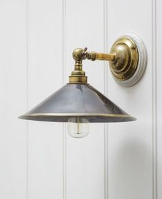 Croft Wall Light with Reeded Shade
