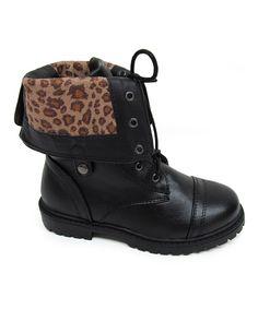 Love this Little Angel Black Jill Boot by Little Angel on #zulily! #zulilyfinds