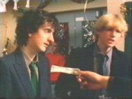 Myself as Justin Bennett with the character Andrew Stanton,  Grange Hill, BBC