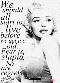 The Marilyn Monroe hair style is always a great choice, it is never out of style. Come Learn why Marilyn Monroe hair styles should be 1 of the 7 Deadly Sins Great Quotes, Quotes To Live By, Inspirational Quotes, Super Quotes, Awesome Quotes, Genius Quotes, Motivational Pictures, Pin Ups Vintage, Vogue Vintage