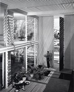 Photo by  Julius Shulman  TITLE: Case Study House #25, Los Angeles, CA  (Killingsworth, Brady, Smith & Assoc, architects)  DATE: 1962