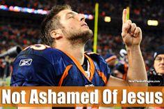 Not ashamed!