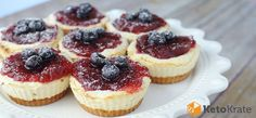 Keto Cheesecake Tarts – sometimes you just have a craving for cheesecake. The great thing about the Keto diet is that cheesecake is a delicious dessert we can indulge in nearly guilt free. High in fat, moderate in protein and low in carbs it's actually a pretty complete Keto food. To be completely honest I've eaten cheesecake for breakfast on Keto and felt no remorse.