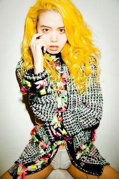 I want hair like a canary