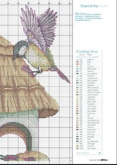 Pecking Order Cross Stitch Patterns Xstitch Stitching Needlepoint Craft DIY