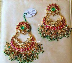 Royal look thamarai chandbali in pure silver with 24k plating.Its truly a treasure to collect. Rs.15250/- WhatsApp : +91-9600666406  #preciousandyou #puresilver #chandbali