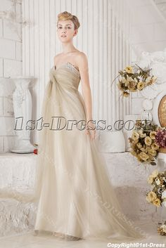 1st-dress.com Offers High Quality Romantic Maternity Bridal Gown for Plus Size,Priced At Only US$160.00 (Free Shipping)