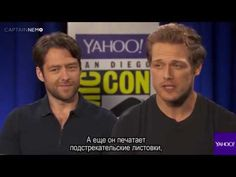 Outlander Stars Preview Their Highly Anticipated Season 3 [RUS SUB] - YouTube
