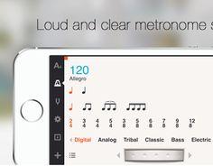 Cadenza Tuner+Metronome iOS App