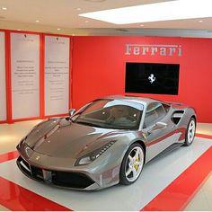The Ferrari 488 GTB! Tag someone that will love it! Photographer  #Ferrari #488 #GTB #AmazingCars247