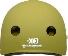Back of X3 Helmet