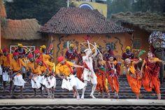 Rathwa dance-Folk dance of chotaudepur, India