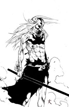 Bleach: Hollow Ichigo by TAKORUone on DeviantArt