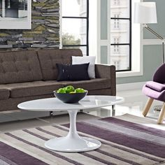 "Shop for Lippa 42"" White Coffee Table. Get free shipping at Overstock.com - Your Online Furniture Outlet Store! Get 5% in rewards with Club O!"