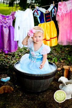 """A dream is a wish your heart makes"".. & you're our dream come true! Cinderella toddler Disney #Princess #Baby #Girls  so cute"