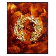 Κάδρο-Αληθινό-Στεφάνι-Ελιάς-Πλούσιο-Σχ.9 Αποκτήστε το online http://www.artistegifts.com/kadro-alithino-stefani-elias-plousio-sx9.html