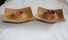 Hey, I found this really awesome Etsy listing at https://www.etsy.com/listing/192999784/tea-light-holders-square-oak-hand-turned