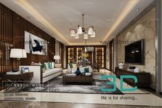 10. Chinese Style Living Room 3dsMax file free download 3d Living Room, 3d Models, Chinese Style, Modern, Free, Furniture, Home Decor, Trendy Tree, Decoration Home