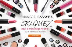 Nouvelle gamme maquillage Nocibé