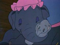 Dumbo and Mama Jumbo <3
