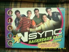 #NSYNC...i had this game