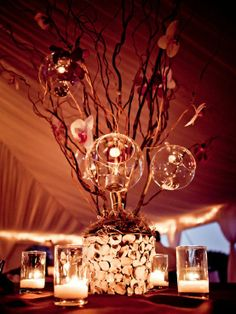 Wedding Centerpieces - DIY Wedding Centerpiece | Wedding Planning, Ideas & Etiquette | Bridal Guide Magazine
