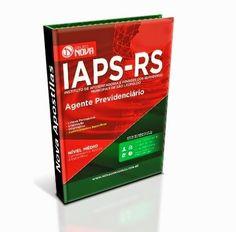 O conteúdo da Apostila para o concurso IAPS - RS - Agente Previdenciário contempla:  - Língua Portuguesa;  - Legislação;  - Informática;  - Conhecimentos Específicos;  A Apostila para o concurso IAPS - RS foi atualizada com base no edital publicado recentemente o que torna o seu conteúdo atual e relevante.