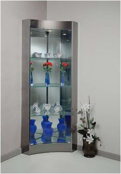 chintaly 6650 corner curio cabinet | Ideas for the House ...