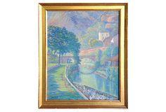 Landscape by Henry Laurent Desjardin on OneKingsLane.com 30L x 24H $1495/2500