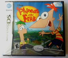 Buy it now or make offer NEW factory sealed Disney Phineas and Ferb Nintendo DS 2009 game new and unsused #phineasandferb