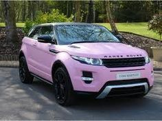 Range Rover Evoque pink